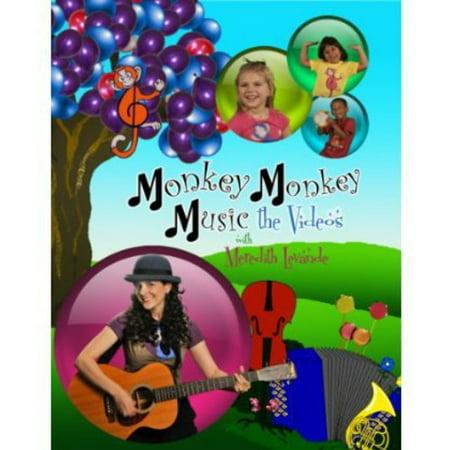 Monkey Monkey Music: The Videos With Meredith Leva (DVD) ()