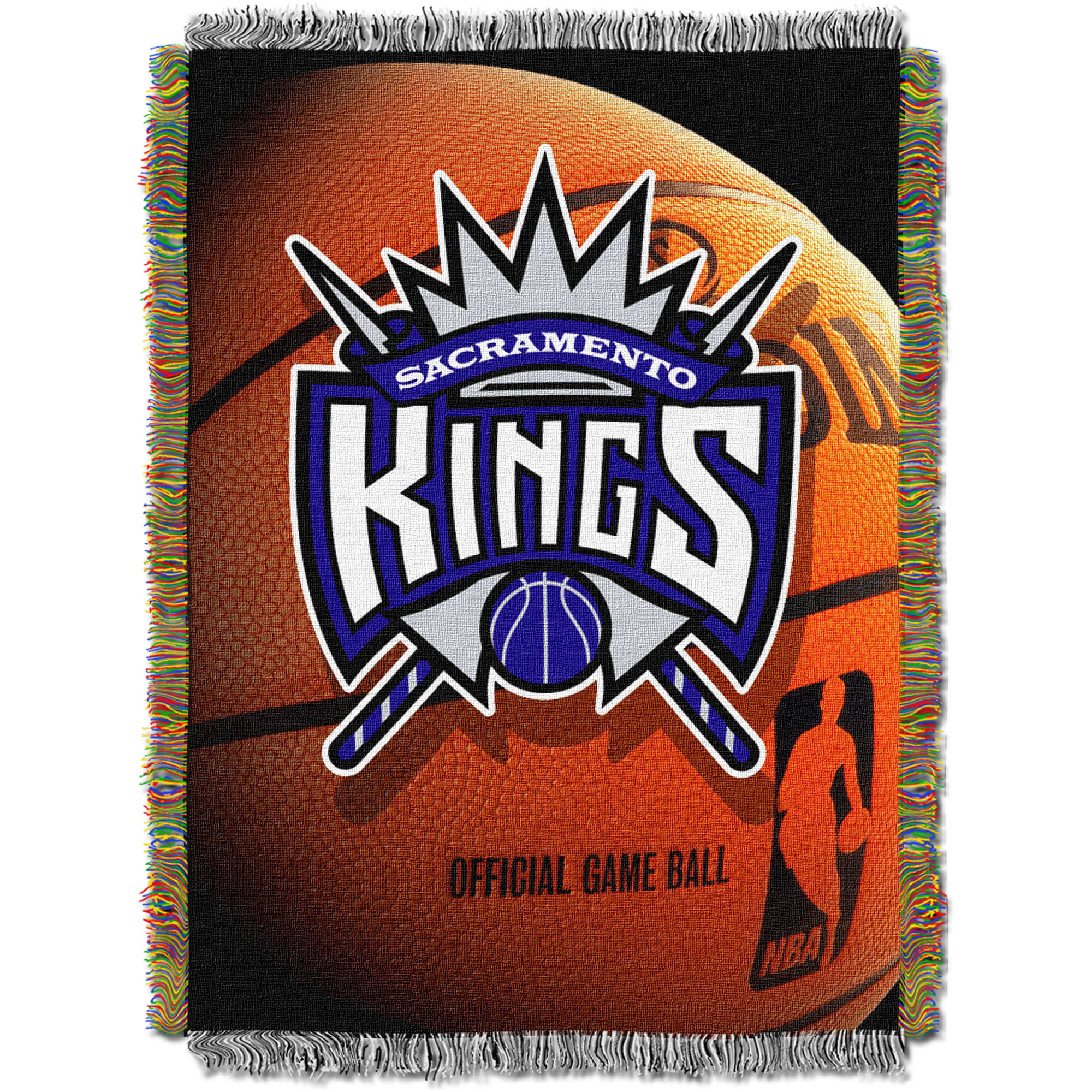 "NBA 48"" x 60"" Photo Real Series Tapestry Throw, Kings"
