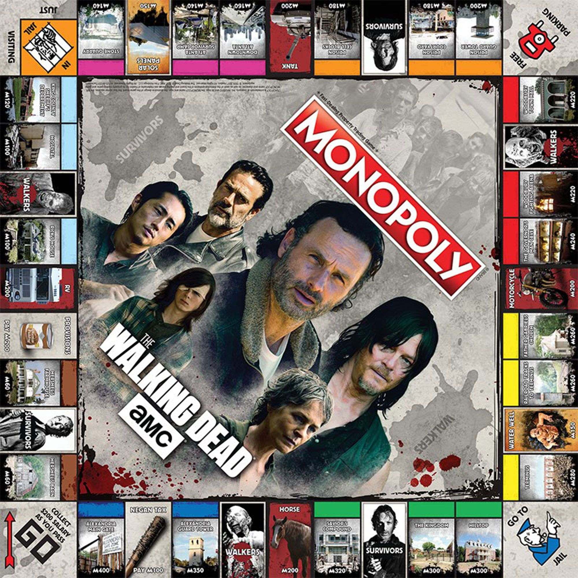 DE Monopoly The Walking Dead
