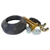 2PK Toilet Tank To Bowl Bolt Kit & Gasket Includes 2 Each Bolts Washers TV659773