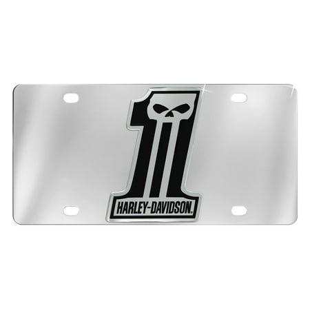 Harley Davidson Hitch Plug (Harley-Davidson Number 1 Black Skull Trailer Tow Hitch Cover Plug)