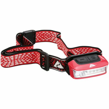 Ozark Trail® Outdoor Equipment LED Multi-Color Sport Headlamp with Battery 14 Led Headlamp