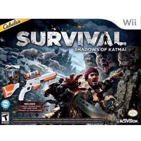 Cabela's Survival: Shadows of Katmai (GAME & TOP SHOT ELITE GUN BUNDLE) Nintendo