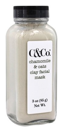 Clay Facial Mask Chamomile & Oats - 3 oz. by C & Co. (pack of 2) Payot - Gelee Gommante Douceur Exfoliating Melting Exfoliating Gel - 50ml/1.6oz