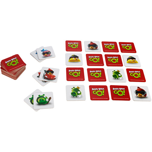 Angry Birds Go! Memory Game Multi-Colored