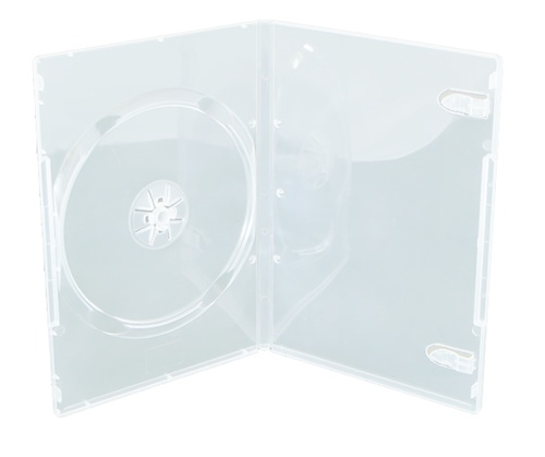 CheckOutStore 25 SLIM Clear Single DVD Cases 9MM by