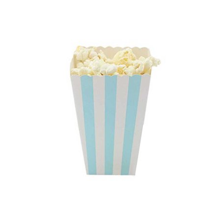 12PCS/Set Popcorn Box Candy Sanck Favor Bags Stripes Gift Bags Wedding Party Favor Kids Movie Party - Candy Stripe Gift
