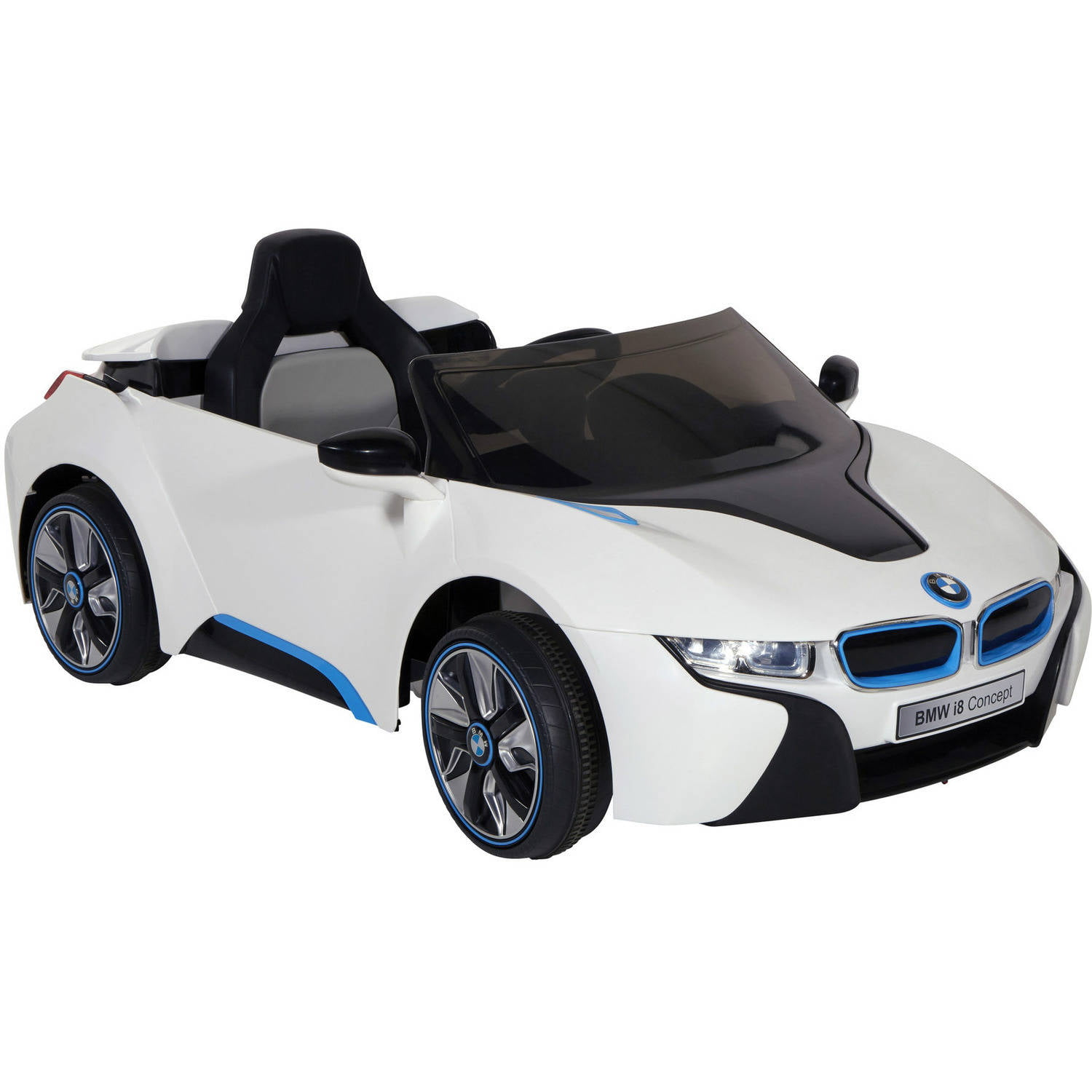 Dynacraft 6v Bmw I8 Concept Kids Play Black White Ride On Car