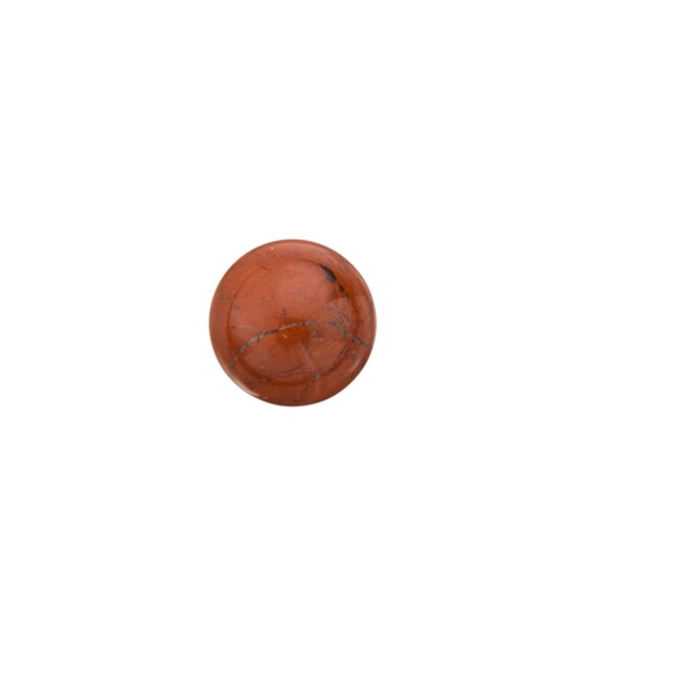 7pcs Red Jasper Cabochon 8mm Round Gemstone/pack (3-pack Value Bundle), SAVE $2