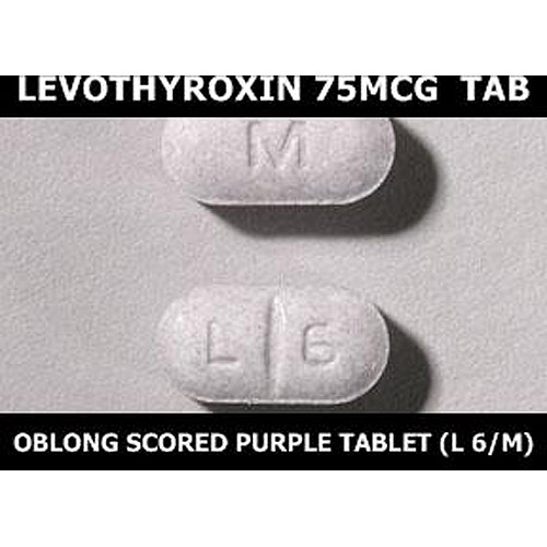 Levothyroxine 75mcg Tab Walmart Com Walmart Com
