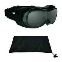 b660786446 Product Image Fit Over RX Glasses Goggles to Cover Prescription for  Motorcycle Riding