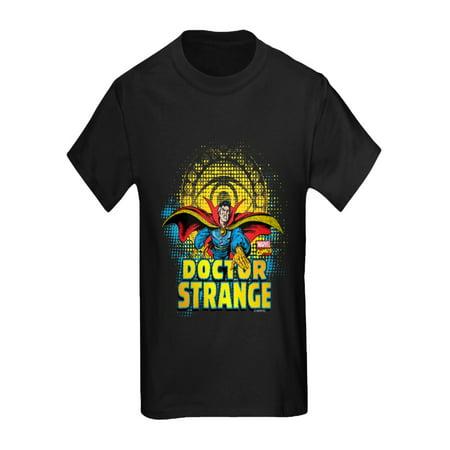 CafePress - Doctor Strange Flight - Kids Dark T-Shirt