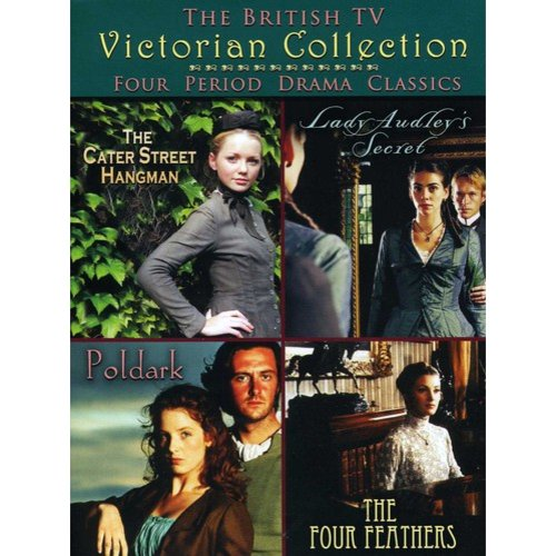 British TV Victorian Collection: The Cater Street Hangman / Four Feathers / Lady Audley's Secret / Poldark (Full Frame)