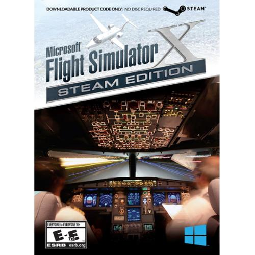 Mad Catz Flight Simulator X: Steam Edition - Flying/simulation Game - Pc (mczfx43sw100s)