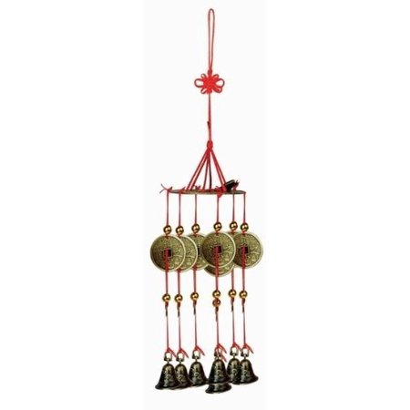 Brass Feng Shui Wind Chime For Home Garden & Car](Owl Wind Chimes)