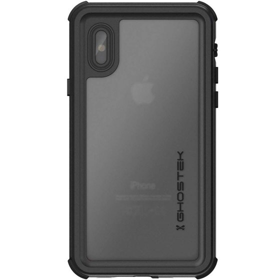 more photos e7f82 f0094 APPLE IPHONE X GHOSTEK NAUTICAL 2 SERIES WATERPROOF CASE - BLACK