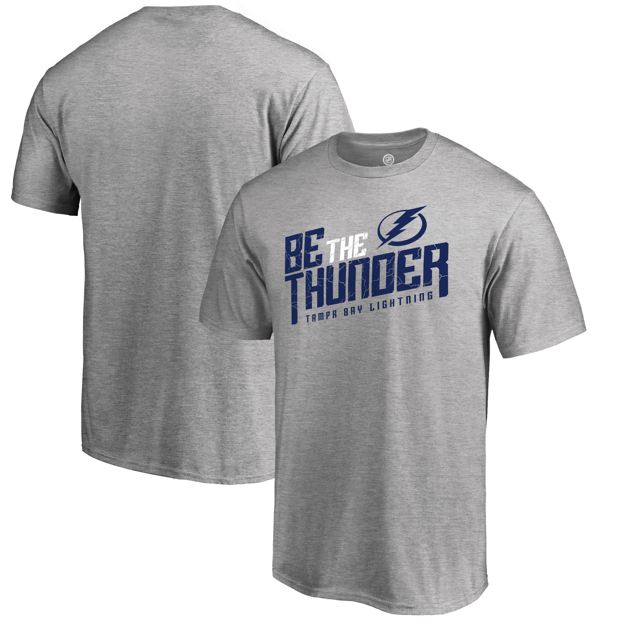 Tampa Bay Lightning Fanatics Branded Big & Tall Hometown Collection Local T-Shirt - Heathered Gray