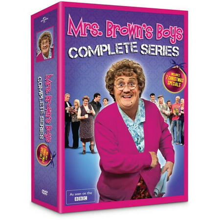 Mrs. Brown's Boys: The Complete Series (DVD)