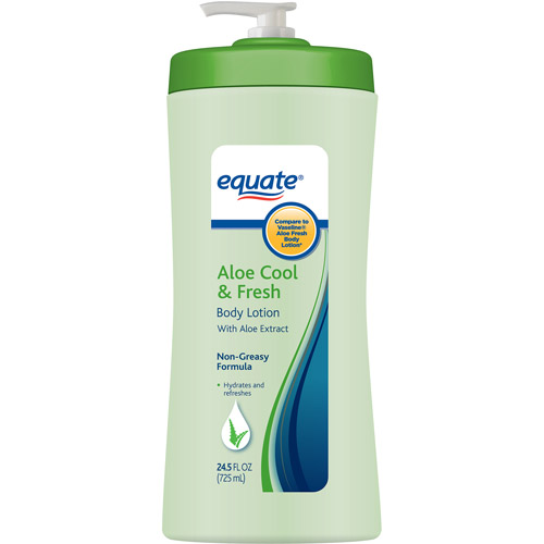 Equate Aloe Cool & Fresh Body Lotion, 24.5 fl oz