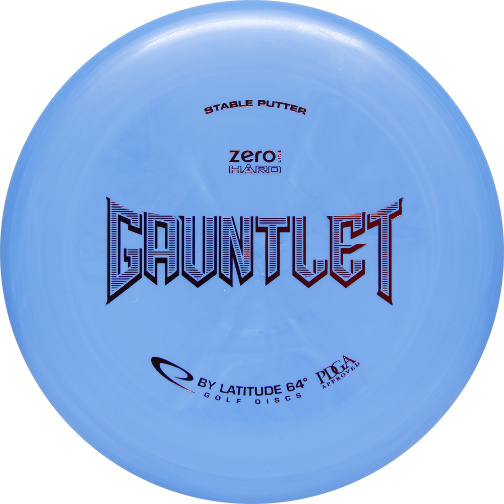 Latitude 64 Zero Hard Gauntlet 170-172g Putter Golf Disc [Colors may vary] - 170-172g