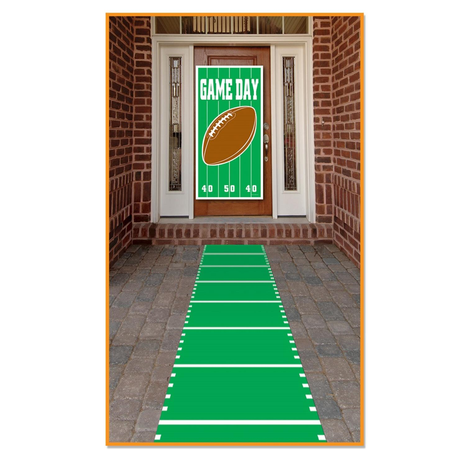 "Pack of 6 Sports Themed Field Aisle Runner Party Decorations 24"" x 120"""