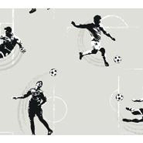 Cool Kids Soccer Wallpaper, Black