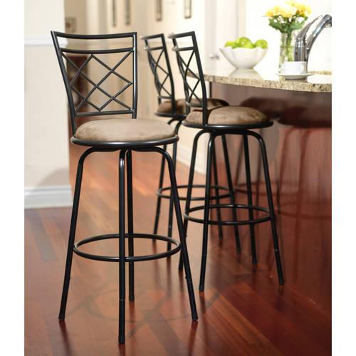 3 Piece Avery Adjustable Height Barstool Multiple Colors