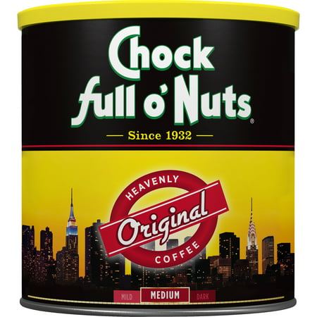 Chock full o'Nuts Original Ground Coffee, 30.5 Ounce Can Artists Originals Coffee