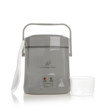 Wolfgang Puck Portable Rice Cooker 1.5 Cup Dry 3 Cup