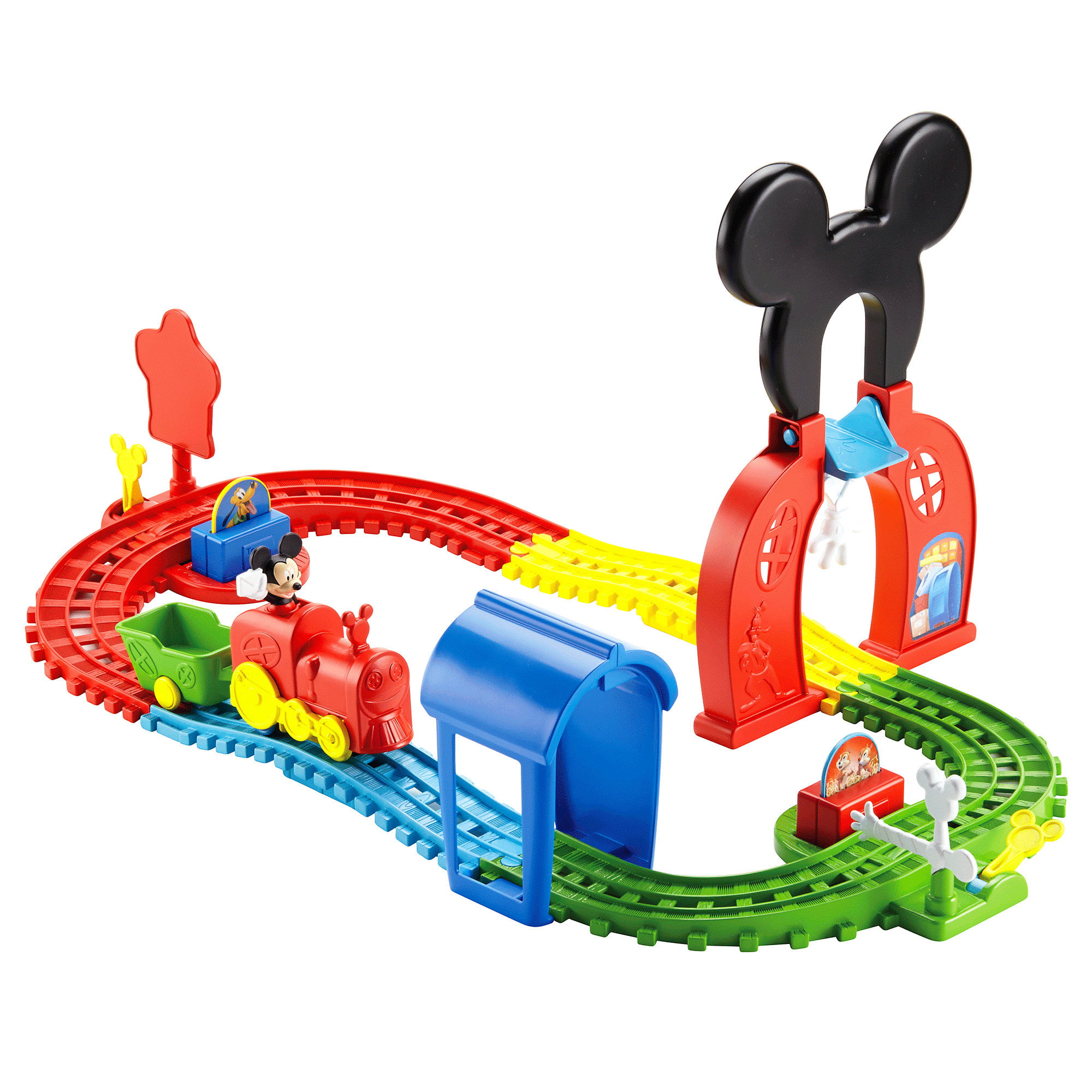 Fisher Price Disney Mickey Mouse Clubhouse � Mouska Train Express Playset by FO SHAN CITY NANHAI MATTEL