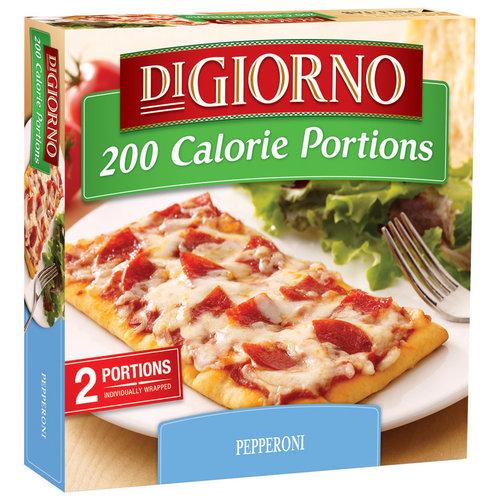 DiGiorno 200 Calorie Portions Pepperoni Pizza, 6 oz