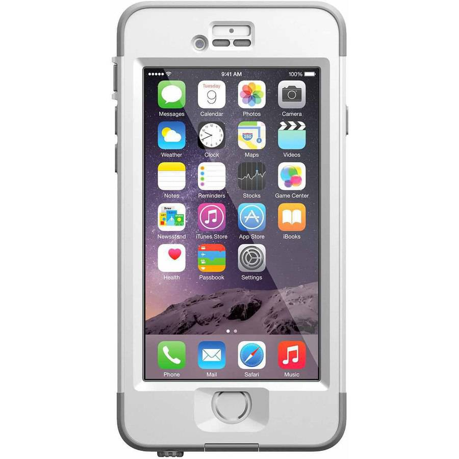 iphone 6 lifeproof nuud case walmart com