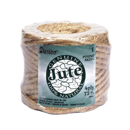 Darice Craft Wire Package (4 Ply Craft Jute Cord: 4lbs )