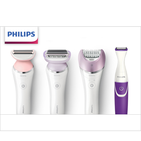 Check out Philips Female Shavers