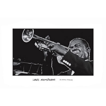 Louis Armstrong Poster Print by Ted Williams (36 x 24)