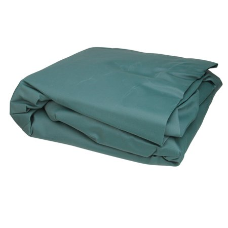 Durable Outdoor Patio Vinyl 3-Seat Glider Chair Cover - Green
