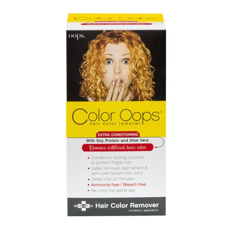 Color Oops Hair Color Remover  1 0 Kit