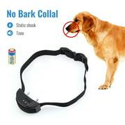 Petrainer PET852 Dog Bark Collar Electric Shock Collar No Bark Collar Warning Beeper Bark Control E-Collar