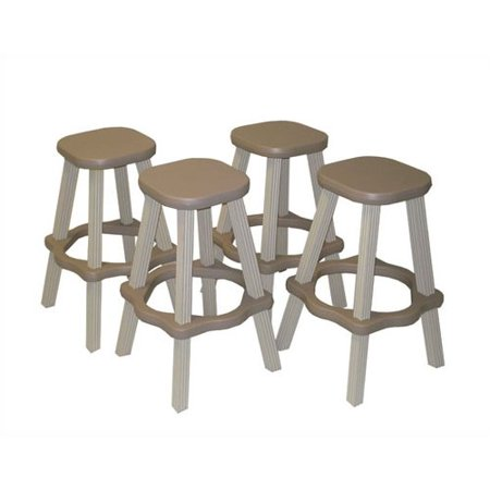 "Leisure Accents 26"" Bar Stool (Set of 2)"