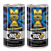 BG MOA Motor Oil Additive 11oz (2 Pack)