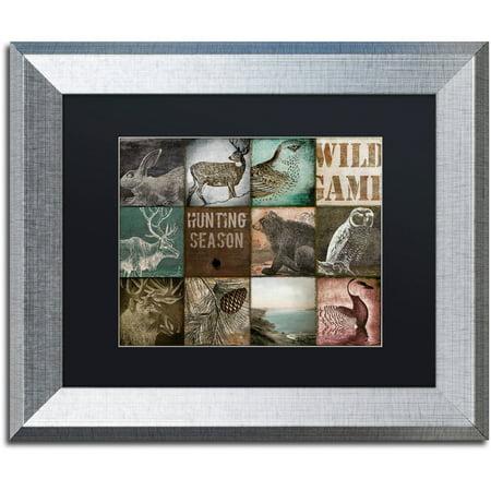 Trademark Fine Art   Cabelas   Canvas Art By Color Bakery Black Matte  Silver Frame