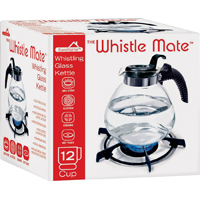 KETTLE TEA WHISTLE GLASS 12CUP
