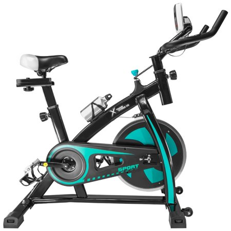 XtremepowerUS Aqua Stationary Exercise Fitness Bike Cycling Cardio Health Workout Indoor with Water