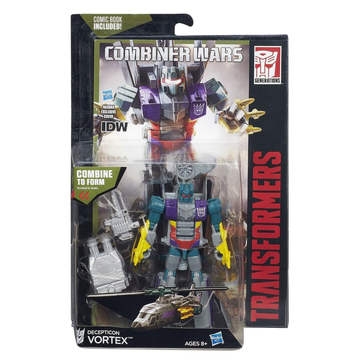 Transformers Generations Combiner Wars Deluxe VORTEX Bruticus NEW FREE SHIPPING