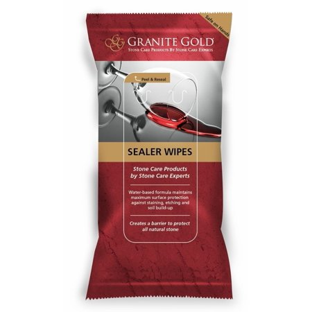 Sealer Wipes  Easy To Apply  Streak Free Formula By Granite Gold