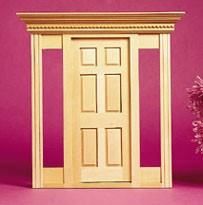 Dollhouse Playscale: Jamestown Exterior Door