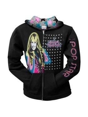 Hannah Montana - Airbrush Hannah Youth Hoodie - Youth Medium
