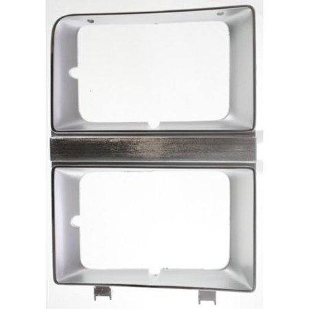 Go-Parts » 1981 - 1982 Chevrolet C10 Suburban Headlight Door - (Brand: LKQ) - Left (Driver) Side - (Custom 5.7L, 5.0L Sport Utility + Custom 5.7L, 5.0L, 6.2L Sport Utility + Deluxe 5.7L, 5.0L Sport) Sports Top Custom Head Dye