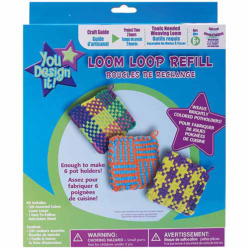 Colorbok You Design It Loom Loop Refill