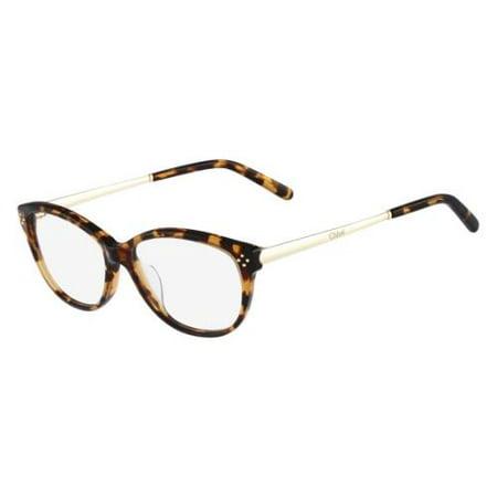 218 Eyeglasses (CHLOE Eyeglasses CE2631 218 Havana 52MM)